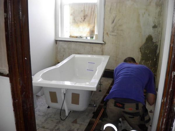 Как сделать акриловую ванну своими руками